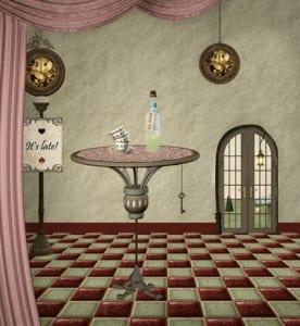 Wonderland series - Drink me room