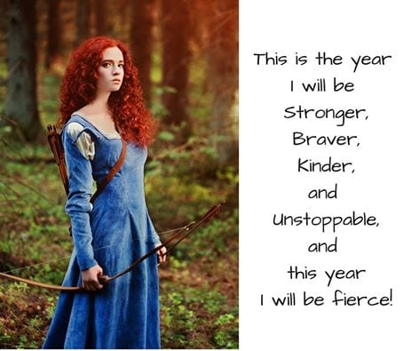 Brave Woman Warrior Embraces Change