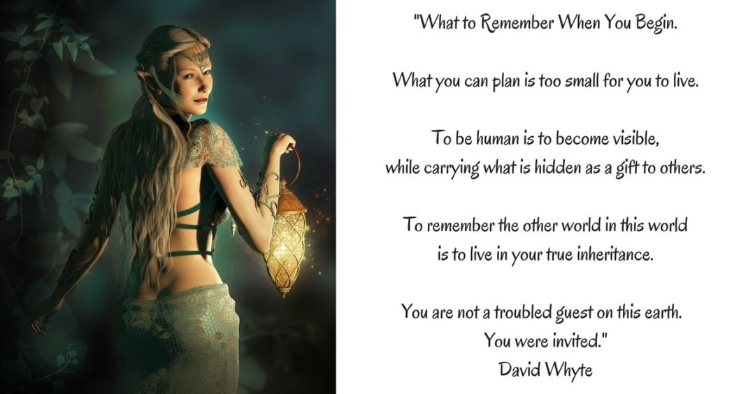 _What to Remember When You Begin.What you can plan is too small for you to live.To be human is to% (1)